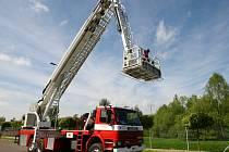 Ve čtvrtek 7. května otevřou pro veřejnost stanici profesionální hasiči v Jablonci