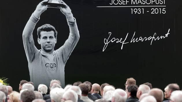 Držitel Zlatého míče Josef Masopust zemřel v loňském roce