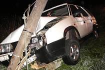 Dopravní nehoda ve Smržovce