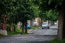 Jablonecká ulice V Aleji na snímku z 30. května.
