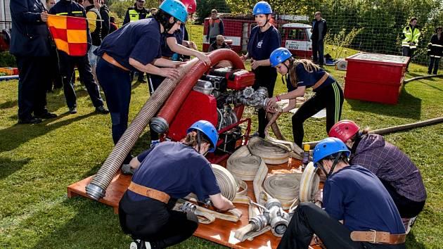 Soutěž v požárním sportu - ilustrační snímek