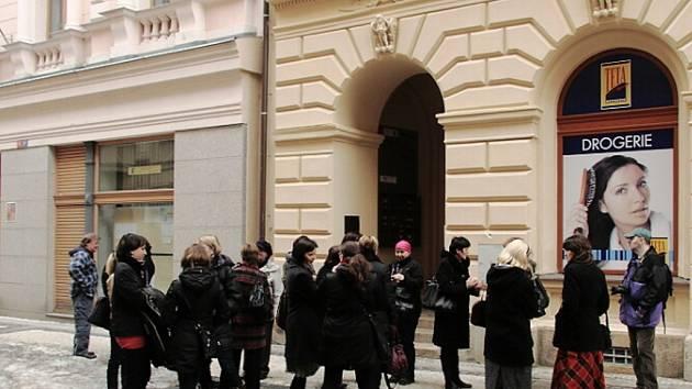 Hotel Praha v Jablonci.