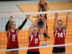 Oporami týmu jsou Anna Zajíčková (8), kapitánka týmu, Anna Kozáková (9) a Karolína Adamcová (14).