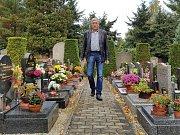 Jablonecký hlavní hřbitov. Je v majetku města a spravuje jej Ladislav Kopal, majitel Pohřební služby Kopal