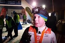 V Bedřichově odstartoval letošní seriál závodů SKI TOUR 2018 dvoudenním Night Light Marathonen. Lukáš Antoš, 9, místo mezi dospělými na 10 km trati.