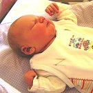 Eliška Měsíčková se narodila Michaele a Stanislavovi Měsíčkovým z Liberce 15.9.2015. Měřila 49 cm a vážila 3250 g.
