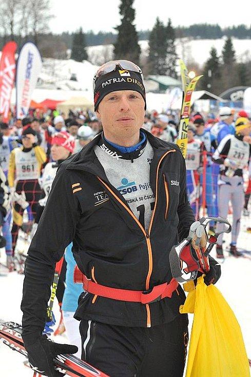 Jizerská padesátka 2011. Stanislav Řezáč, letos opět skvěle třetí.