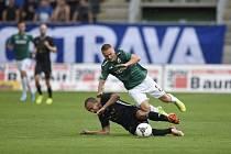 Někdy se to nepovede. Za nevyužitou víc jak exkluzivní šanci si Jan Matoušek po  utkání FK Jablonec - Ostrava (2:1) vyslechl své...