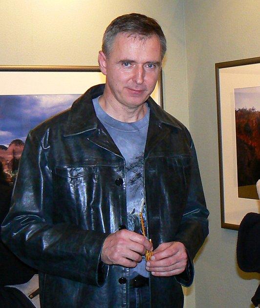 Václav Špillar vystavuje své fotografie v jablonecké Galerii My do 15. února.