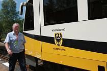 Polský vlak v Kořenově