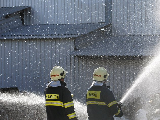 Zásah hasičů. Ilustrační snímek