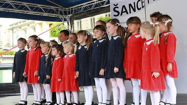 V úterý 14. června v Jablonci na Mírovém náměstí proběhlo 5. kolo soutěže Šance pro talent.