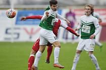 Z utkání Jablonec - Slavia