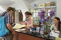 Turistické informační centrum v Domě manželů Scheybalových