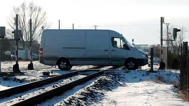 Železniční přejezd - ilustrační snímek