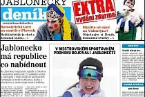 Jablonecký deník EXTRA - únor 2013