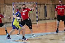 Házenkářské derby mezi Libercem a Jabloncem zakončilo podzimní část II.ligy. Vítězství brali hosté (Jablonec).