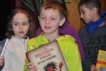 Děti získaly knihy