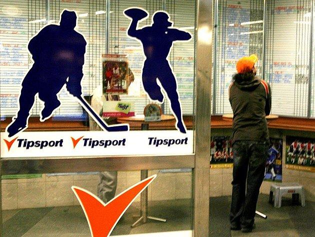 Sázková kancelář Tipsport. Ilustrační snímek.