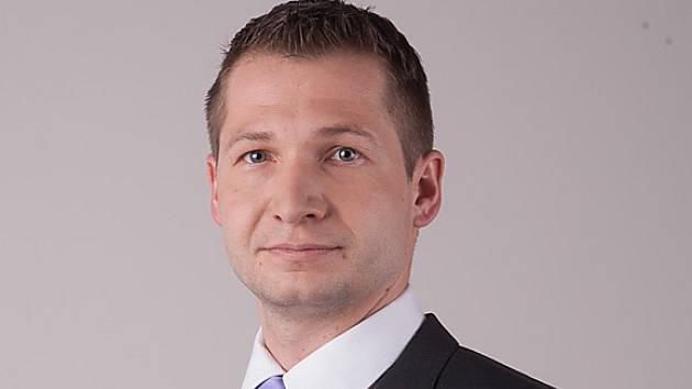 Starosta obce Zlatá Olešnice Jiří Černý.