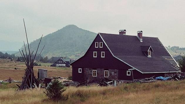 Hnojový dům na Jizerce.