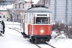 Při příležitosti 121. výročí tramvají v Jablonci nad Nisou se v neděli 7. února 2021 do Jablonce vydaly z Liberce jeho původní tramvaje.