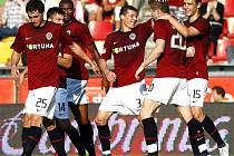 Utkání 8. kola fotbalové Gambrinus ligy mezi celky AC Sparta Praha a FK Baumit Jablonec hrané 11. září 2010 v Praze. Hráči Sparty se radovali z jediné branky utkání, jejímž autorem byl Juraj Kucka.