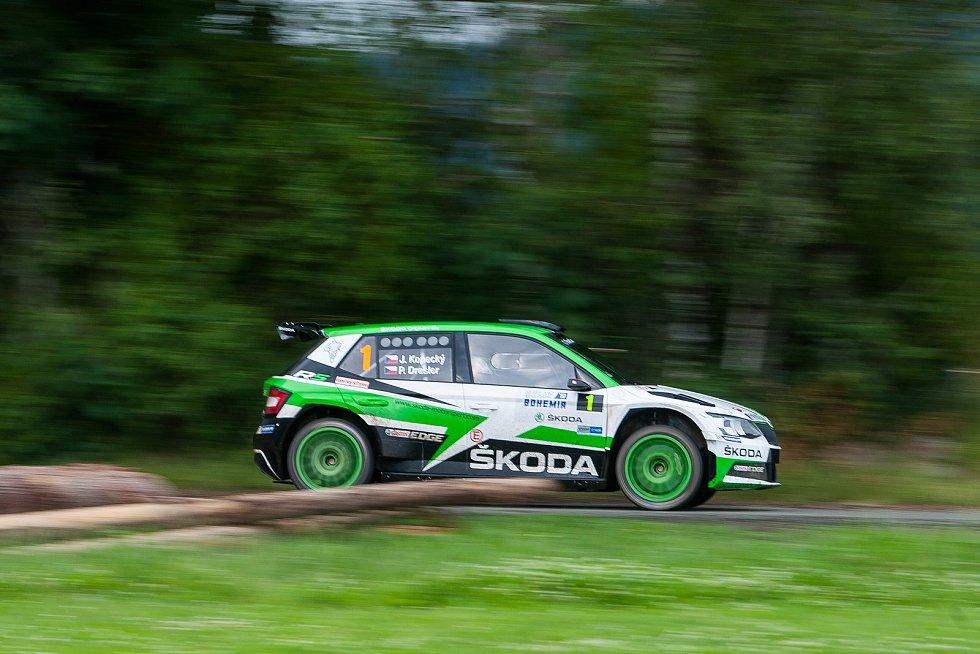 Rally Bohemia, pátý závod seriálu Mistrovství České republiky v rally, proběhl 1. a 2. července.