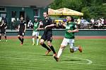 Fanoušci ve Velkých Hamrech se dočkali. Konečně se hrál zase fotbal. A k přípravnému utkání s domácím áčkem přijela rezerva FK Jablonec B.