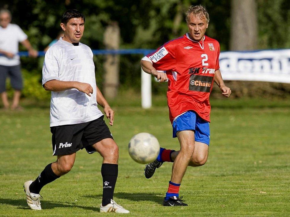 V rámci oslav došlo i na utkání fotbalových starých gard Sokola Zásady a Reprezentace ČR.