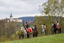 Rekonstrukci Bitvy u Liberce z roku 1757 přihlíželo i letos několik stovek diváků.