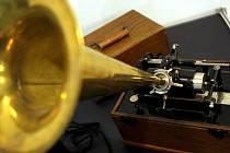 Starožitný gramofon. Ilustrační snímek.