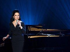 Lucie Bílá koncertovala v jabloneckém Městském divadle. Vzpomněla i 20 let spolupráce s Vrabčáky.