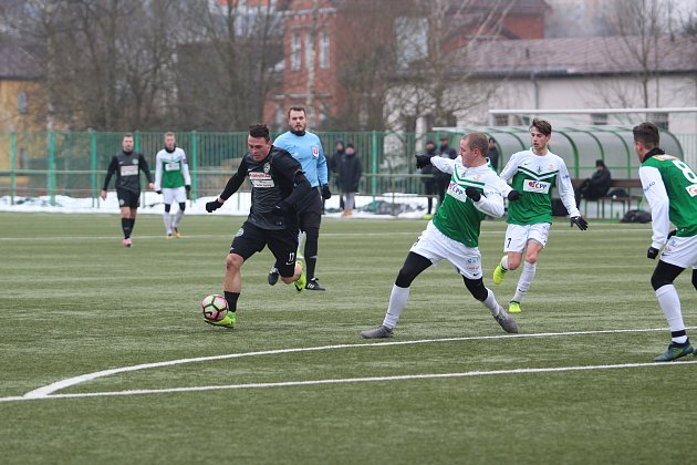 V dalším přípravném utkání si A tým Velkých Hamrů změřil síly s juniorkou FK, pro kterou to byla generálka před blížící se soutěží.
