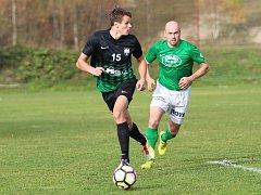 Nejlepší střelec podzimu I. B třídy východ, lučanský Marek Purm, autor třinácti gólů.