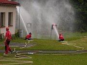 Sbor dobrovolných hasičů Vlastiboř. Soutěž na domácí půdě.