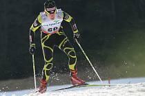 Klára Moravcová v kvalifikaci na sprint v závodě SP v běhu na lyžích, Nové Město na Moravě