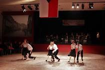 Prvorepublikový městský ples v Turnově.