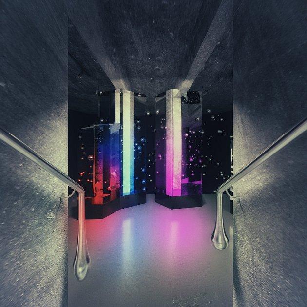 Budoucí podoba stálé expozice vánočních ozdob vMuzeu skla a bižuterie vJablonci nad Nisou,  jejímž autorem je designér Jakub Berdych ml.