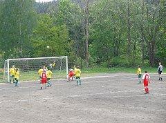 Na Jablonecku jsou už jen dvě škvárová fotbalová hřiště, jedno na Janově (viz foto) a druhé v Kokoníně.