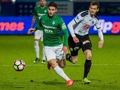 FK Jablonec - FC Hradec Králové 2:1.