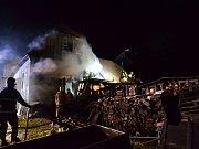 Hasiči zasahovali 17. listopadu u požáru Šámalovy chaty v Bedřichově na Jablonecku. Jednotky vyjely na místo po nahlášení požáru v 19 hodin a 20 minut.