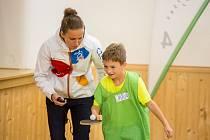 V Libereckém kraji si svou odměnu vybrala také jablonecká základka v Pasířské ulici. Mezi děti přijela Iveta Vacenovská, česká reprezentantka ve stolním tenisu.