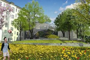 Přístavba Muzea skla a bižuterie bude mít podobu skleněného krystalu. Bude tu instalována expozice vánočních ozdob.