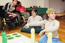 Děti z Jedličkova ústavu v Liberci strávily jarní prázdniny ve výtvarném centru ve Sněžence