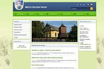 Vzhled nové webové prezentace města Železný Brod.