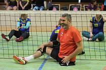 První ročník Volleyball Sitting Cupu v Jablonci dopadl na výbornou. Přijelo deset týmů.