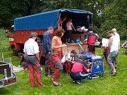 Sbor dobrovolných hasičů Vlastiboř. Soutěž v Košťálově 2008.