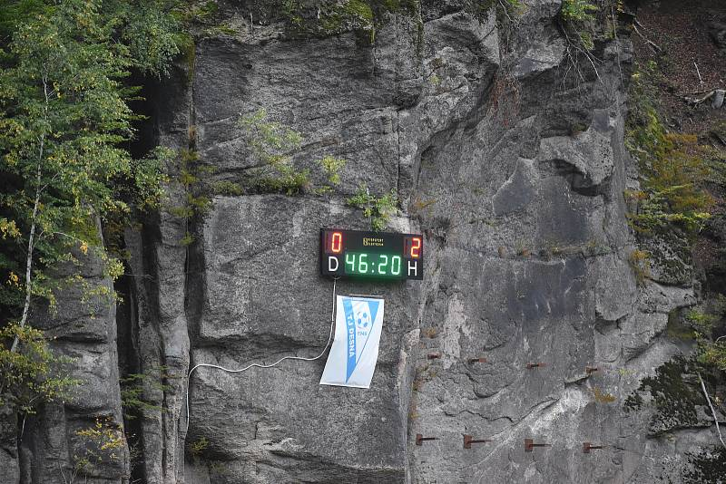 Ve vyrovnaném utkání KP si týmy body rozdělily.