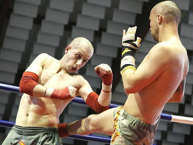 Boxerské utkání. Ilustrační snímek.